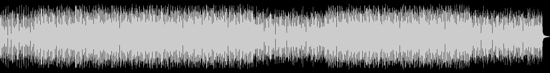 シンプルで強めのテクノ曲の未再生の波形