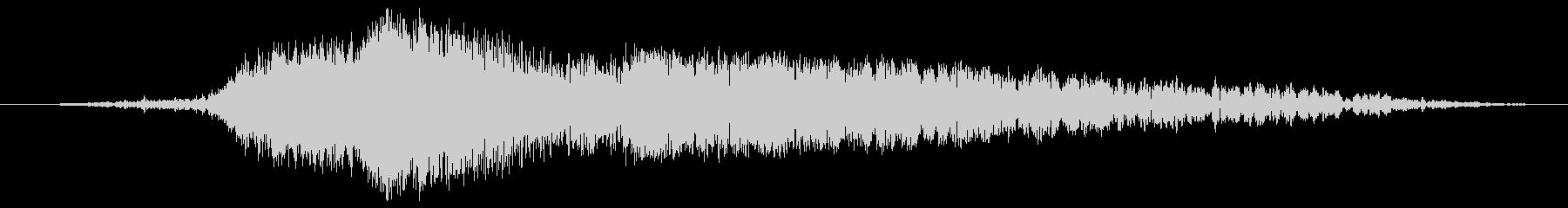 ヘビーオムナスウーシュ2の未再生の波形