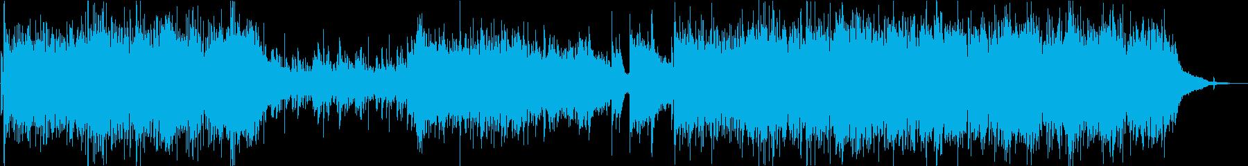 CM】古き良き感ある生演奏アコギ の再生済みの波形
