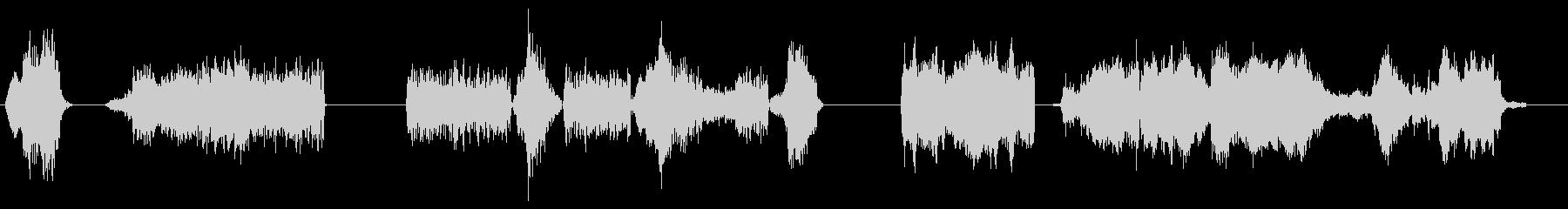 アーケードグッドガイの未再生の波形