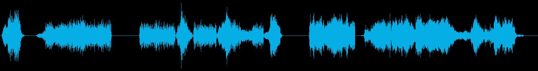 アーケードグッドガイの再生済みの波形