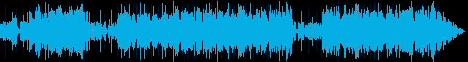 渋い中国風のローファイヒップホップの再生済みの波形