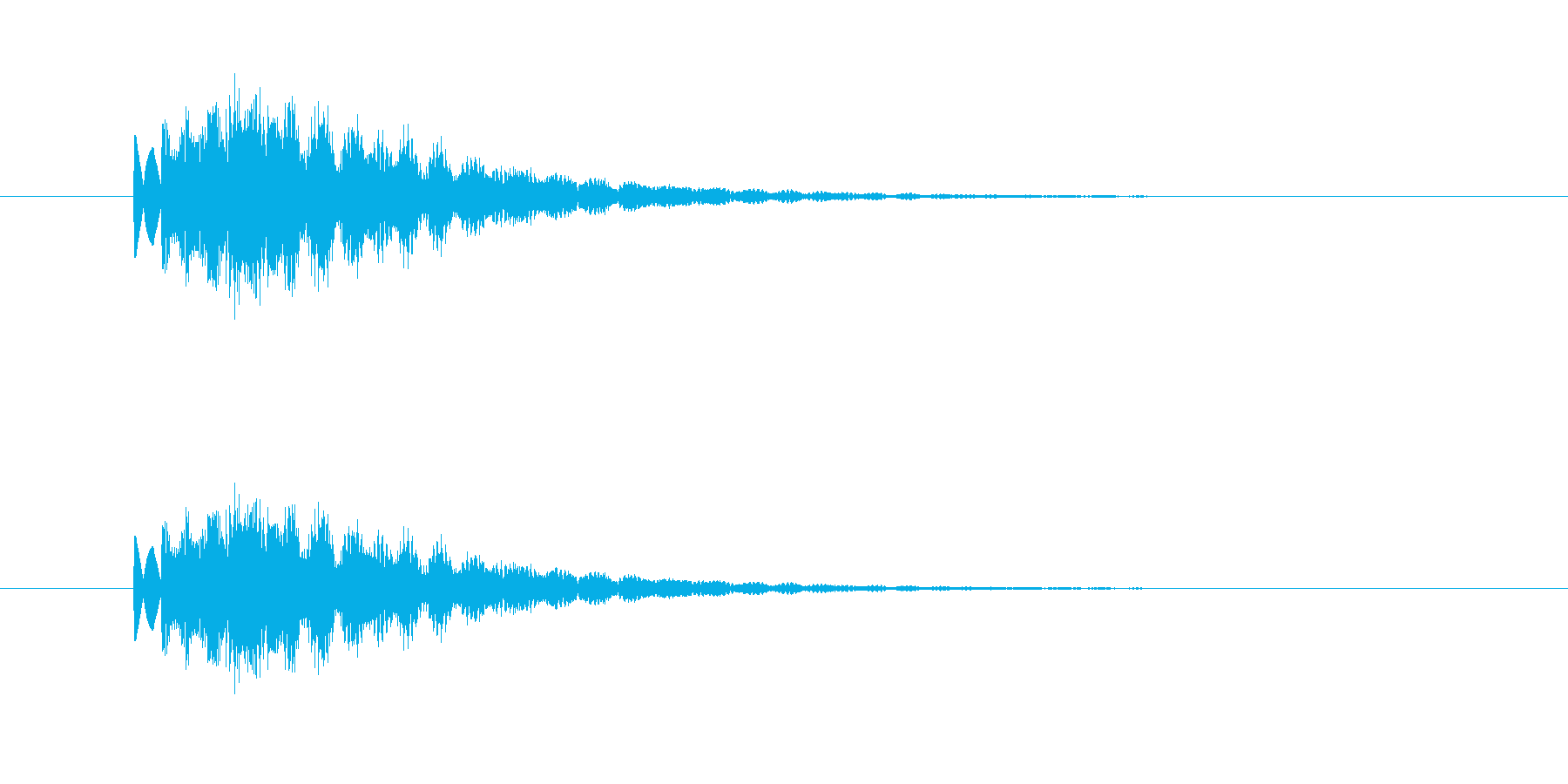 キララァーンの再生済みの波形