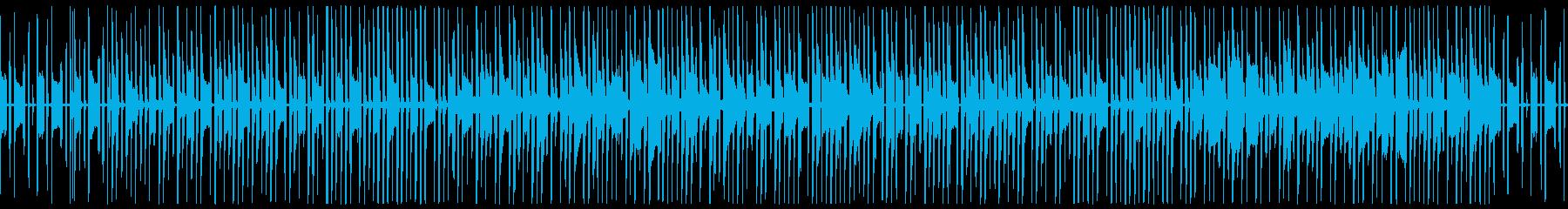 ゲームや配信向けのほのぼのかわいい日常系の再生済みの波形
