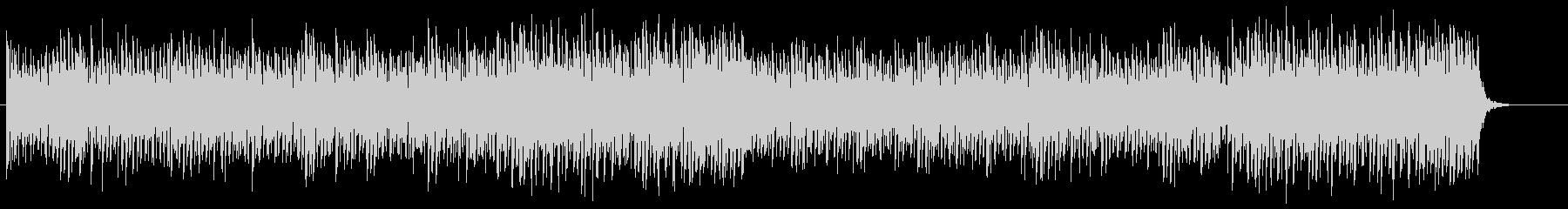 爽やかで開放的なピアノトランスSH版の未再生の波形