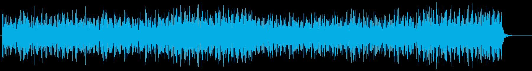 爽やかで開放的なピアノトランスSH版の再生済みの波形