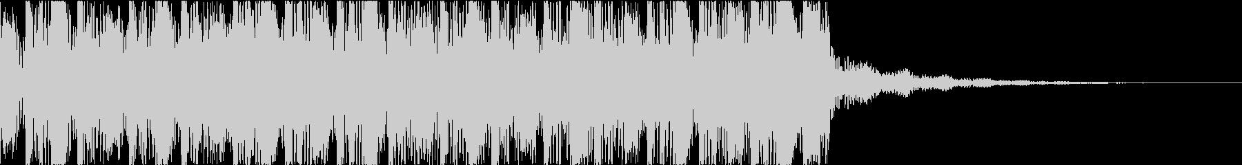 サイケ トランス ダーク ジングル 9秒の未再生の波形