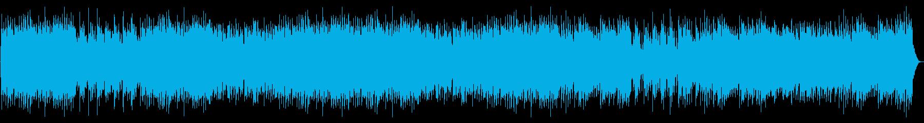 フルートのメロディー、ハープ、ハー...の再生済みの波形