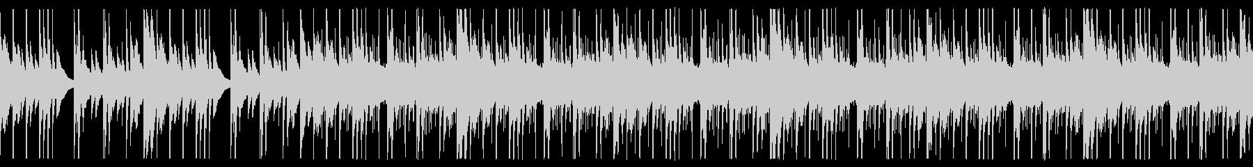ほのぼのしたアウトドア系キャンプBGMの未再生の波形