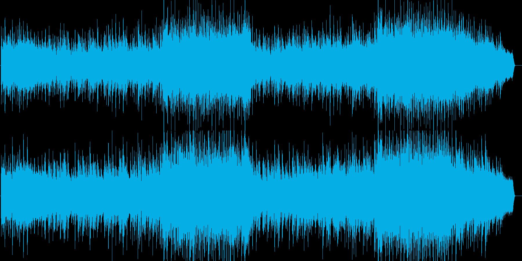 ドラマ等に使える感動的なバラードの再生済みの波形