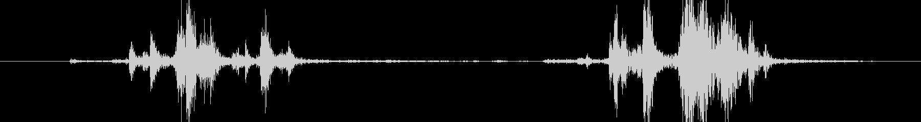 【戦場・戦争】 銃_60 ローディングの未再生の波形