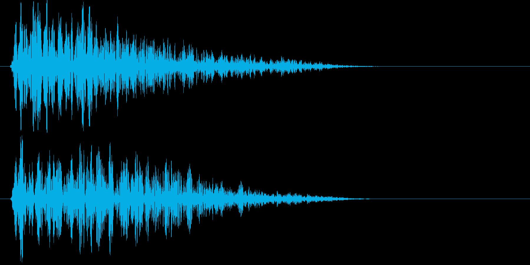 ホォォオオー(荒廃した街に吹く風)の再生済みの波形