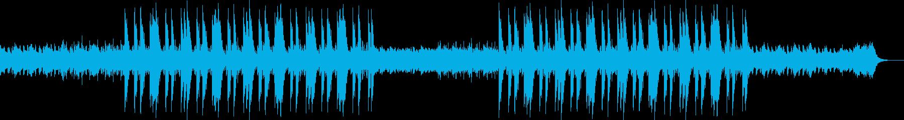 かわいい キラキラ チルトラップの再生済みの波形