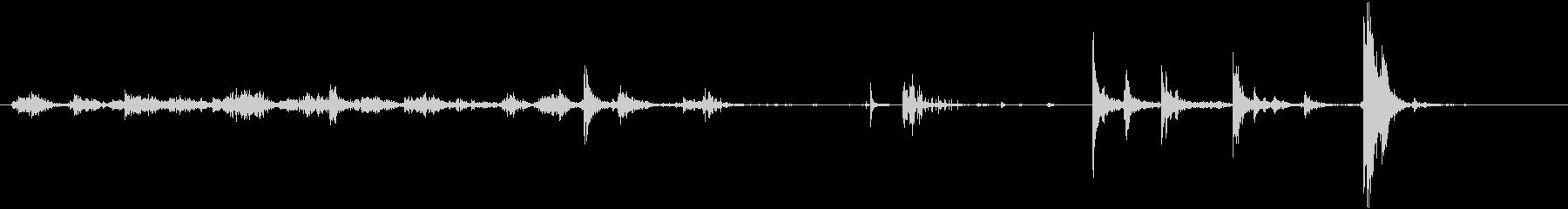 メタルCクランプ:取り外して設置の未再生の波形