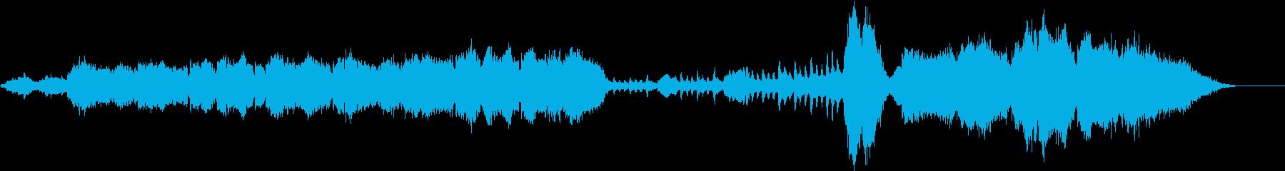 ジブリ風  哀愁溢れるオーケストラの再生済みの波形
