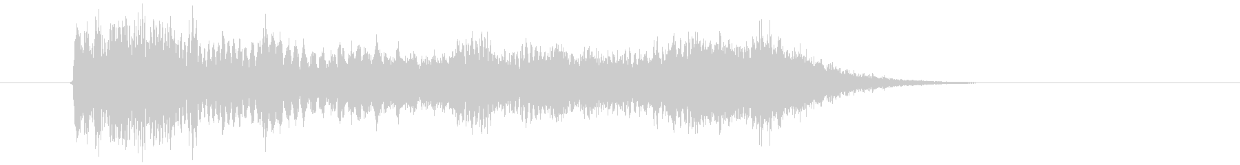 232_衝撃音(FX)3の未再生の波形