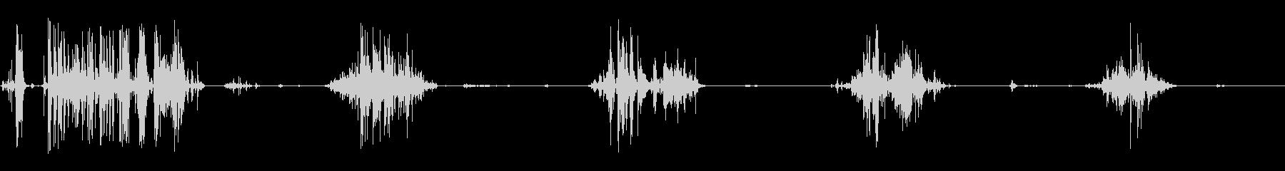 食べる音14(ポテトチップスなど)の未再生の波形