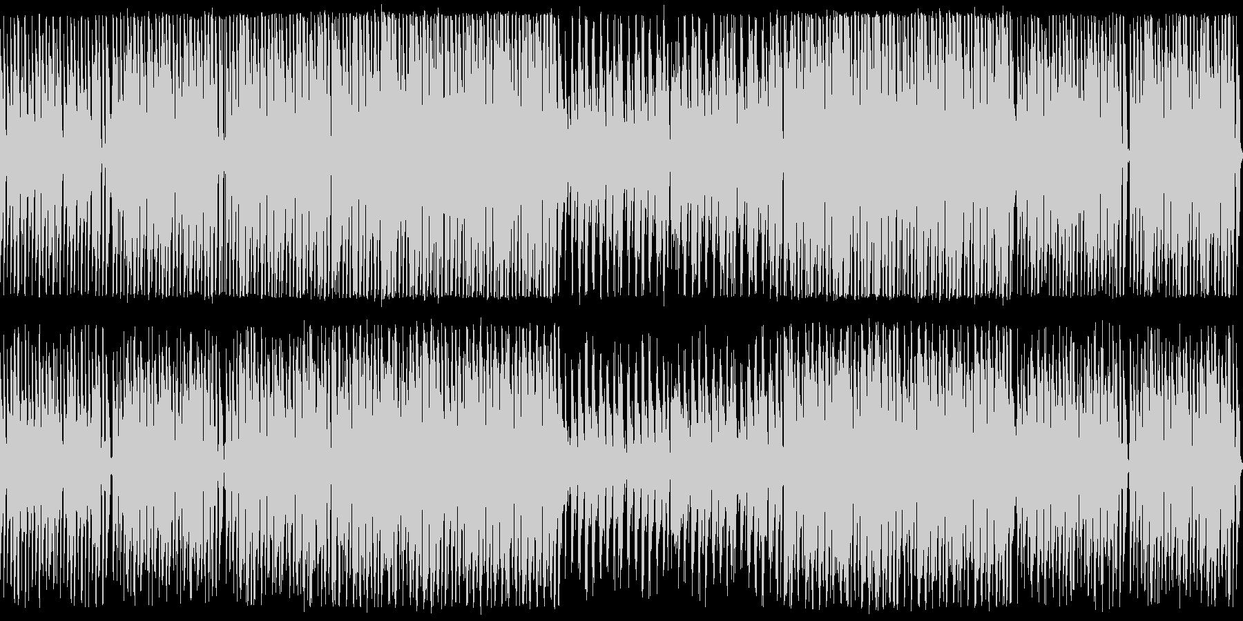 木琴のノリノリポップ ループ仕様の未再生の波形