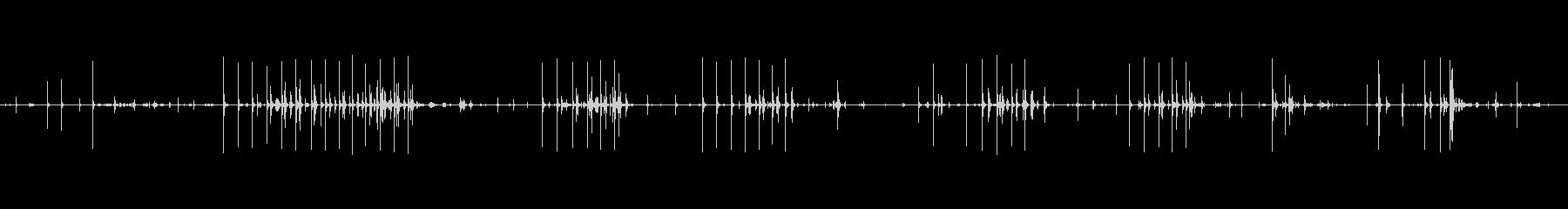 ジャンプロープ、子供、屋内、笑い;...の未再生の波形