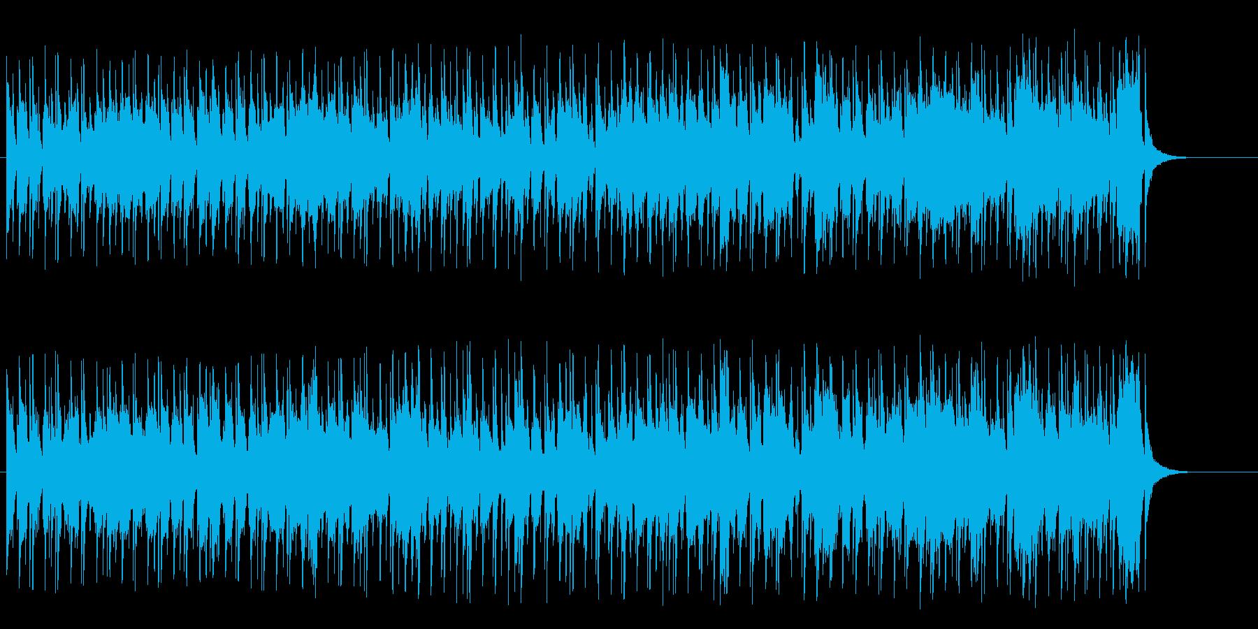 のんびりとした温泉情報溢れるポップ/和風の再生済みの波形