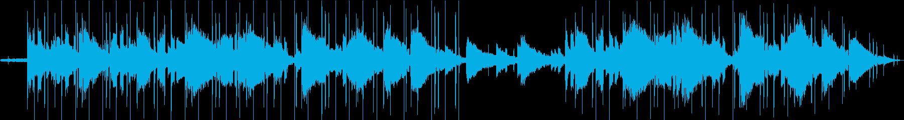 Lofi Hiphop/夜カフェ系ビートの再生済みの波形