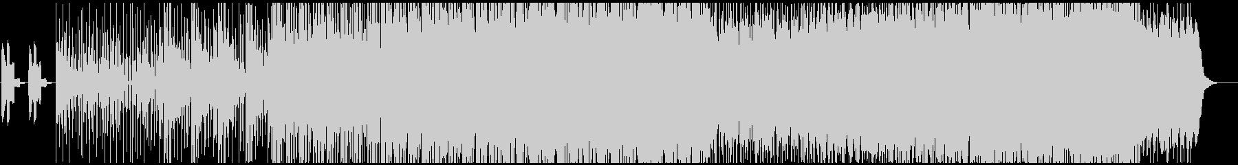 映像制作 ダウンヒル スポーツ 山 急斜の未再生の波形