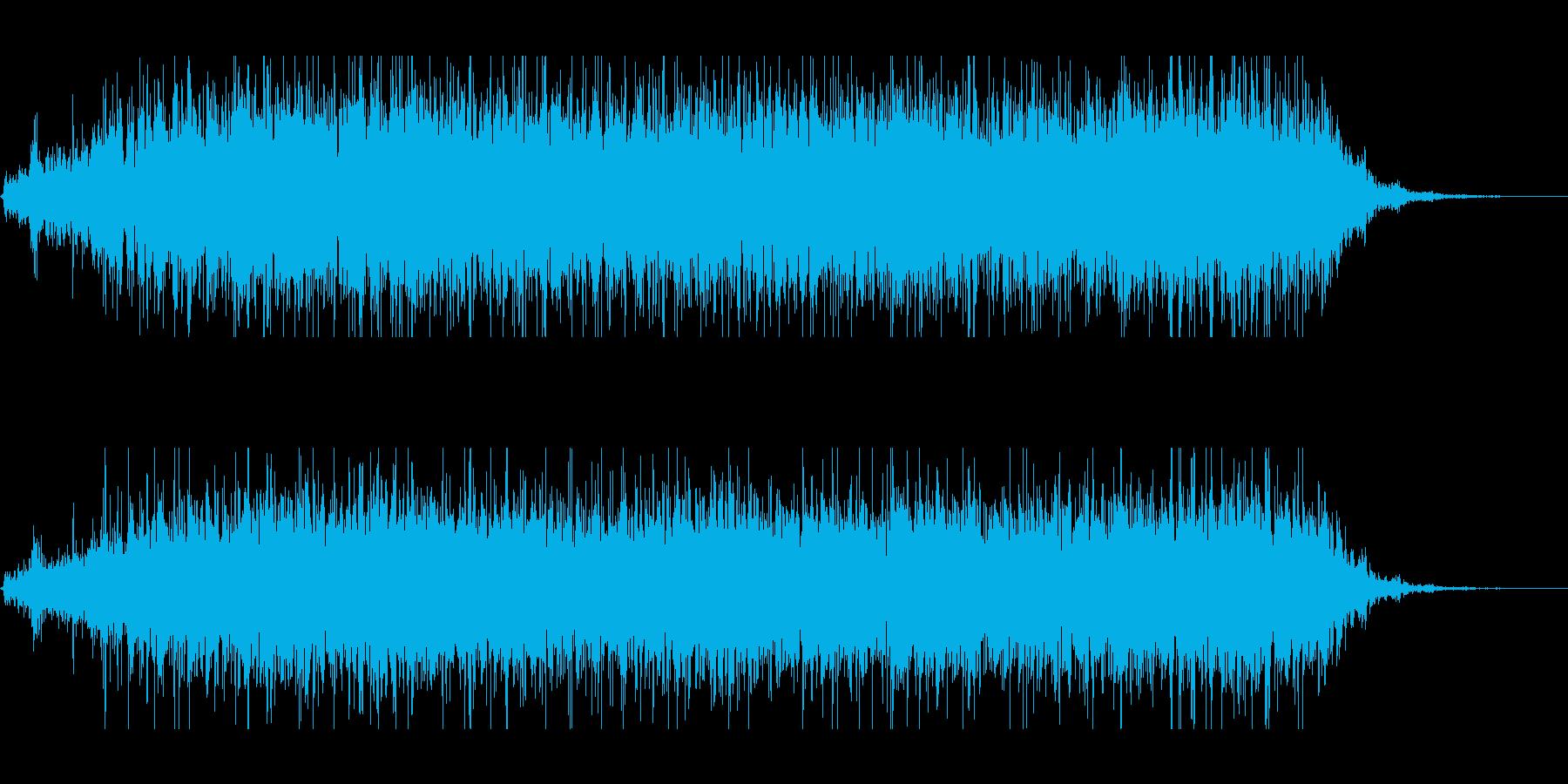 川や海、水中の水の流れの音です。の再生済みの波形