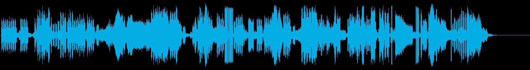 テレメトリレセプションの再生済みの波形