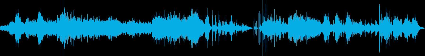 しっとりしたリラクゼーションミュージックの再生済みの波形