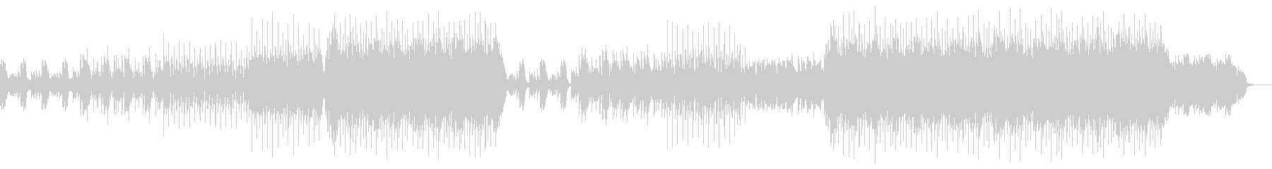 洋楽ポップス1の未再生の波形