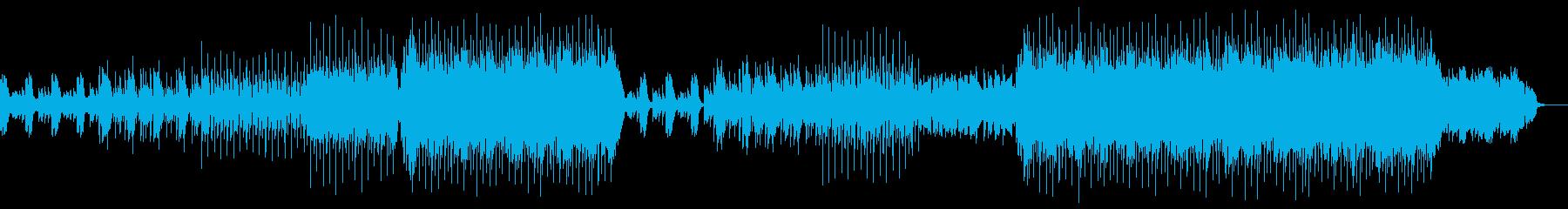 洋楽ポップス1の再生済みの波形