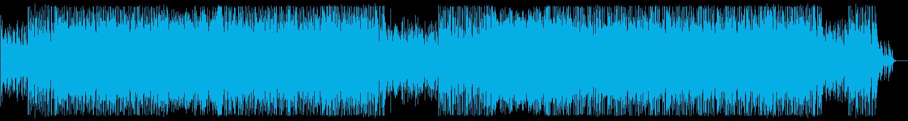 軽やかで優しいシンセピアノポップスの再生済みの波形