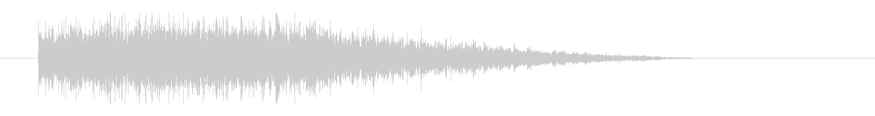レーザー音-76-3の未再生の波形