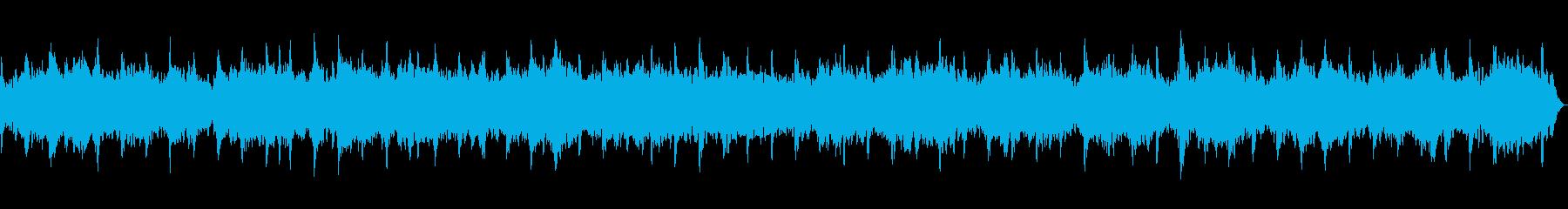 24【417Hz】ソルフェジオ周波数の再生済みの波形
