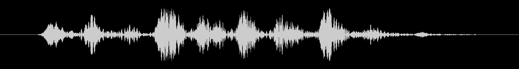FX ボードウォブル01の未再生の波形