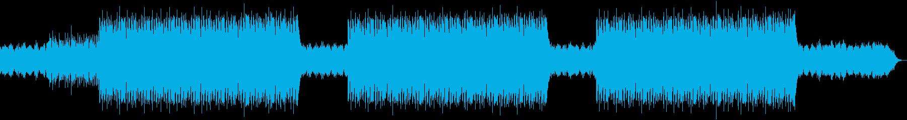 エモ系ギターヒップホップBGMの再生済みの波形