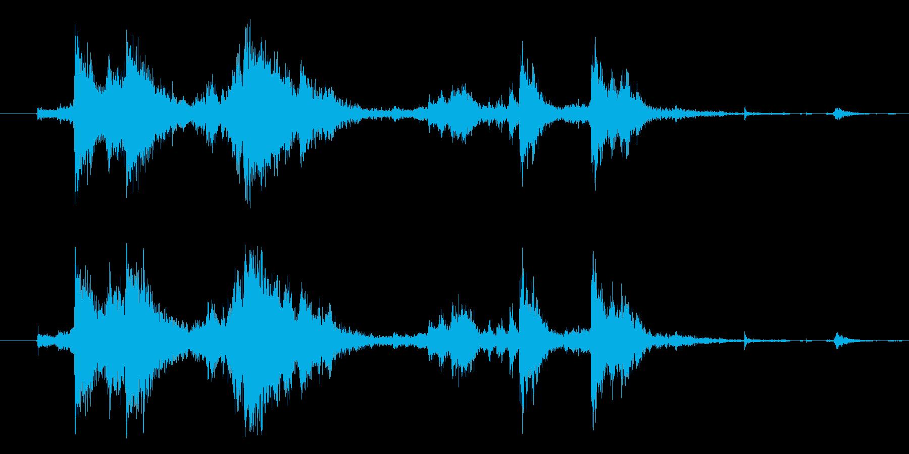 メタル クラッシュミディアム07の再生済みの波形