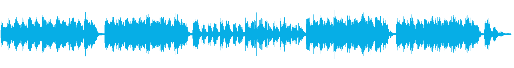 Modern, Japanese-style songs's reproduced waveform