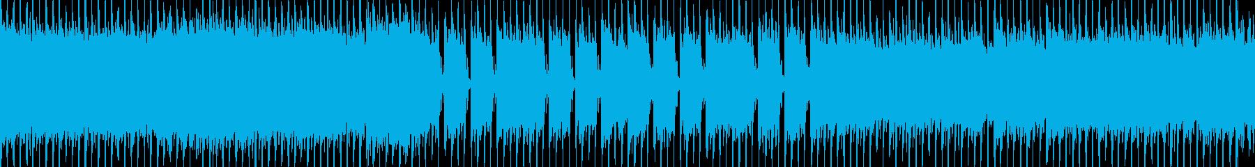 爽やか/アコースティックギター ループ版の再生済みの波形