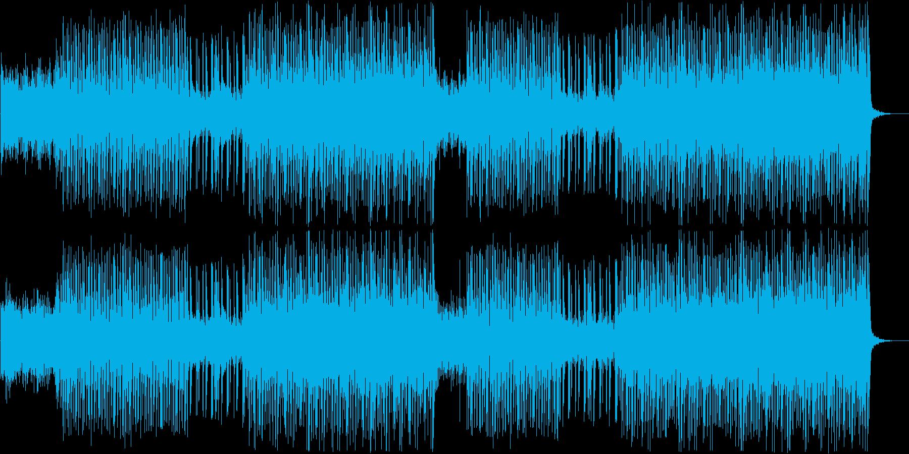 K-pop、シンセウェーブ80sビート♫の再生済みの波形