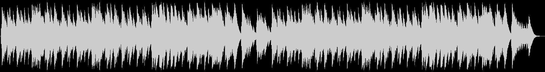 ひいらぎ飾ろう オルゴールの未再生の波形