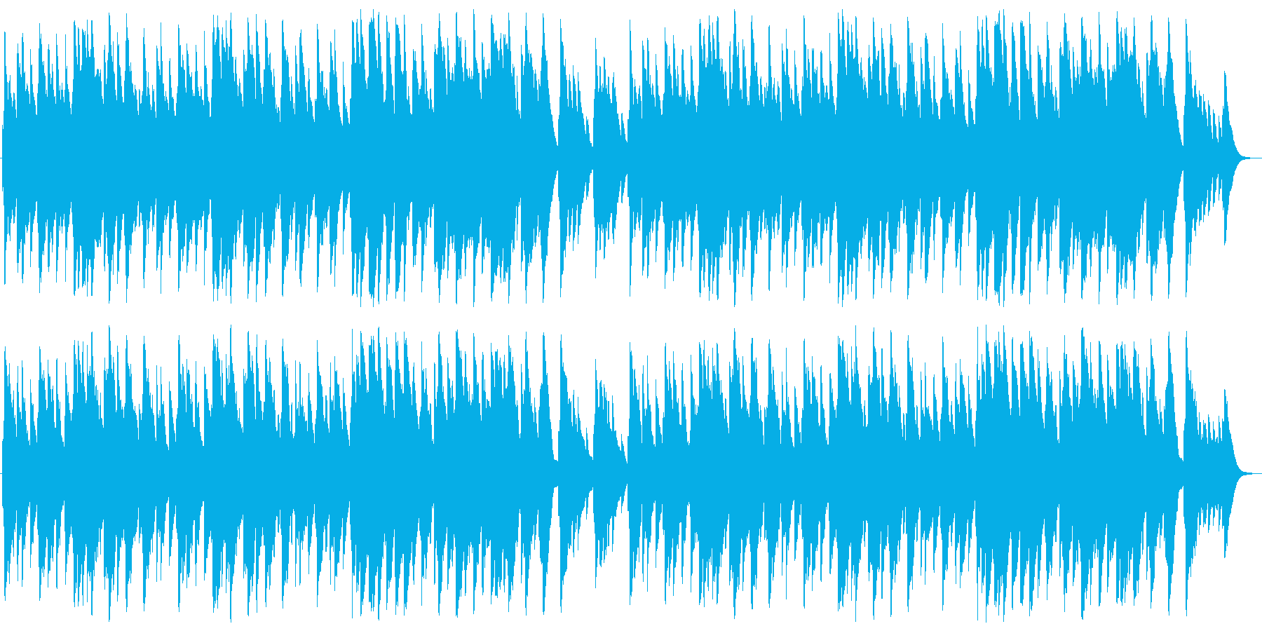 ひいらぎ飾ろう オルゴールの再生済みの波形