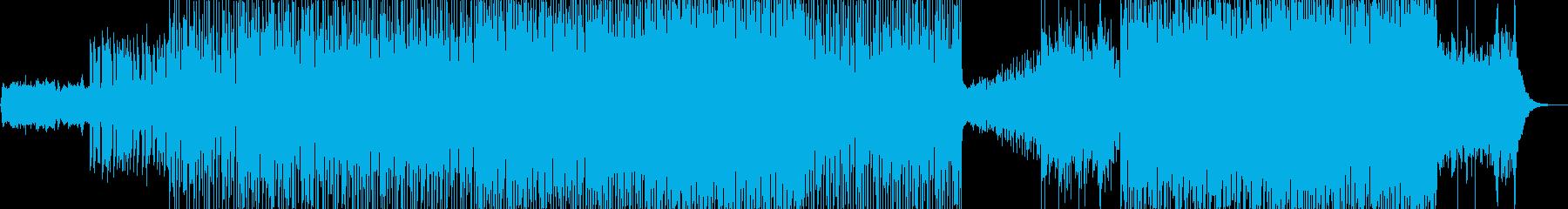 モダン テクノ ドラマチック 感情...の再生済みの波形