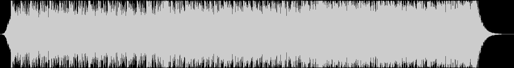 激しくて壮大なシネマティック曲 aの未再生の波形