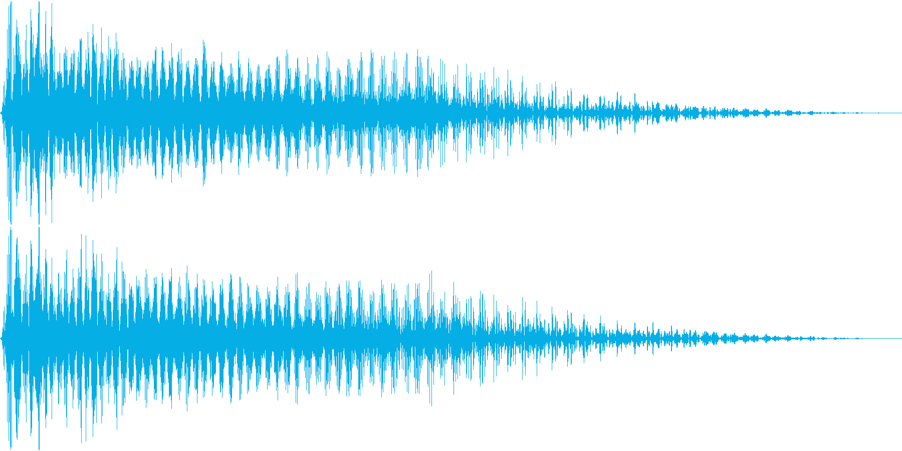 InvaderBuzz 発砲音 24の再生済みの波形