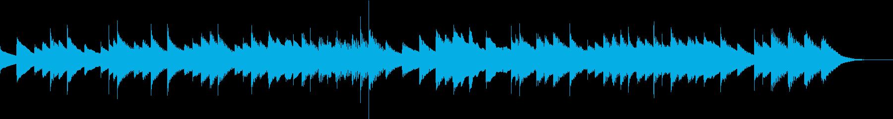 悲しいオルゴールのワルツの再生済みの波形