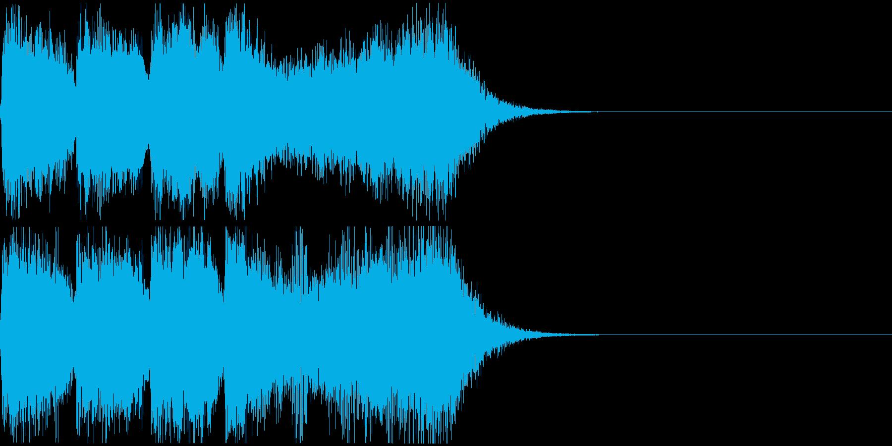 巨大怪獣/戦艦登場シーンの超重厚な曲4の再生済みの波形