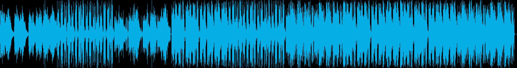気持ちが落ちつく優しく儚い子守唄EDMの再生済みの波形