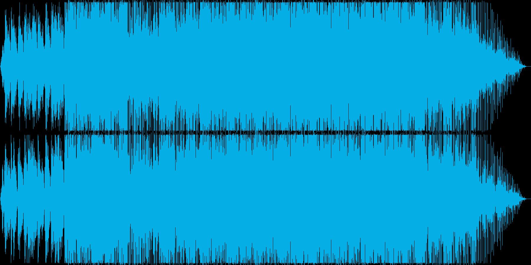 優しく切ないミディアムテンポR&Bポップの再生済みの波形