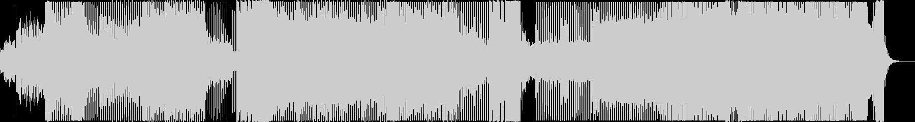 聞き馴染みのあるEDMの未再生の波形